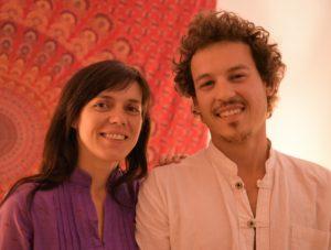 Claudia y Robert