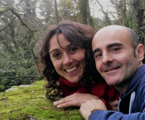 Ananda Sandra y Jose Miguel Sambhavo